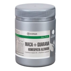MACA + GUARANA X 90 CAPS - HOMEOPATIA ALEMANA