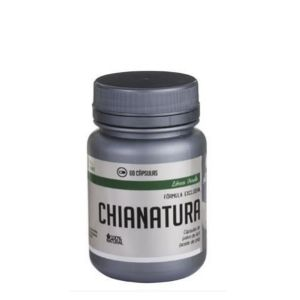 Chianatura - Aceite de Chía en Polvo 60 Cap - Homeopatía Alemana
