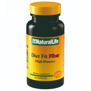 Diet Fit Fiber x 60 cap - Natural Life