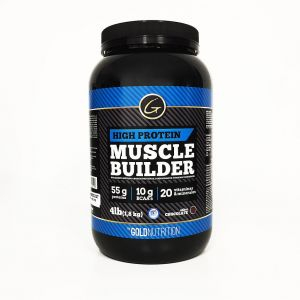 muscle builder 4 lb - gold nutrition