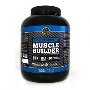muscle builder 7 lb - gold nutrition