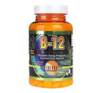 Vitamina B12 100 cap - Saturn