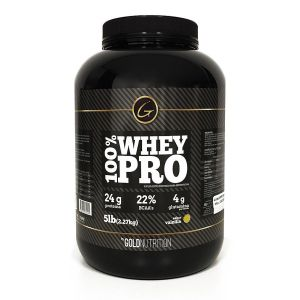 100% Whey Pro 5 lb - Gold Nutrition