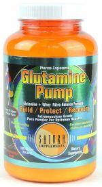 glutamina pump 300 g - saturn