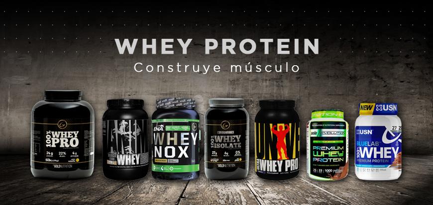 suplementos whey protein